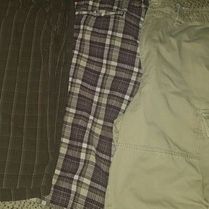 Mens  size 40w cargo shorts